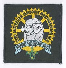 AJ2013 - AUSTRALIA SCOUT NATIONAL JAMBOREE - HUME REGION SCOUTS BADGE