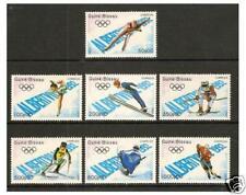 Guinea-Bissau - 1989, Winter Olympic Games set - MNH - SG 1166/72