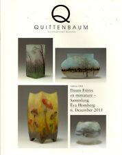 QUITTENBAUM DAUM Nancy Art Glass Miniature Eva Homberg Collection Auction Catalo