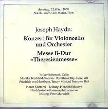Klassik CD -  Haydn: Theresienmesse, Plön 2000 (selten)
