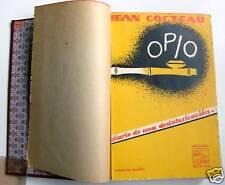 OPIO. JEAN COCTEAU. Primera edicion 1931