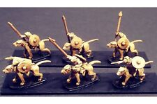 15mm Fantasy Vermian Cavalry with Spear on Lightly Armored Ratweillers (16 figs)