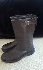Armani Collezioni Brown Leather Boots Size UK 8 EU 42