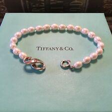 SALE!!!!! Tiffany & CO Pearl Infinity Sterling Silver Bracelet