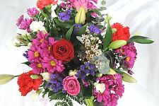 FRESH REAL Birthday Flowers Delivered Superb Bouquet FREE UK Next Day by Post