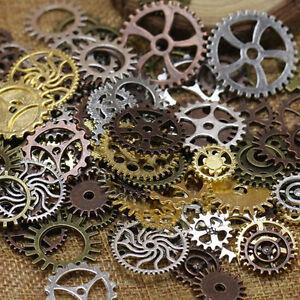 Vintage Steampunk WATCH Pieces Steam Punk Cogs Gears Wheels