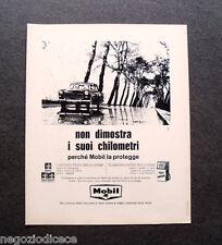 P125 - Advertising Pubblicità -1965- LUBRIFICANTE MOBIL