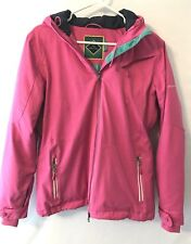 Millennium Three Women's Medium Pink Winter Snow Hooded Jacket
