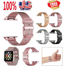Magnetic Milanese Stainless Steel iWatch Band Strap For Apple Watch Series 5 4 3
