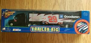 2003 Winners Circle GM Goodwrench #29 Kevin Harvick Trailer Rig 1:64 DieCast