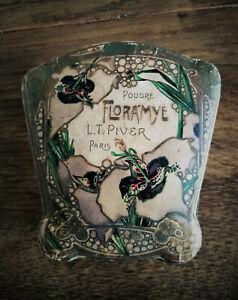 Ancienne Boite à Poudre FLORAMYE, poudrier L.T. Piver PARIS - Art Nouveau -