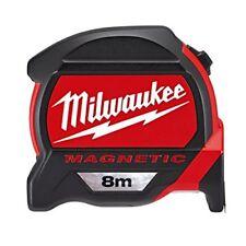 Flessometro 8m Milwaukee 48227308 Gancio magnetico