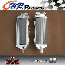 RH&LH Aluminum Alloy Radiator FOR kawasaki kx250 KX 250 1985 1986 85 86