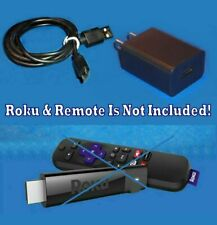 Roku Charger Wall Charger Power Supply Rocu Charge Syc Cable Cord FIT ROKU STICK