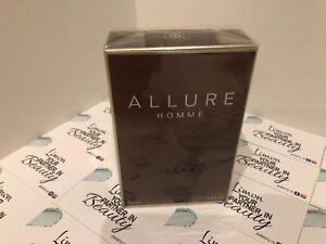 Chanel Allure Eau De Toilette 100ml - Genuine- Sealed Box -