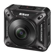 Nikon waterproof action camera KeyMission 360 BK Black Now on Sale !!