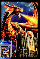 60ct Max Protection Small Deck Shuffle-Tech Sleeves YuGiOh! Size - DRAGON FURY