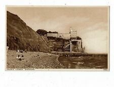 POST CARD PRINTED OF JACOB`S LADDER, SIDMOUTH