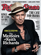 Rolling Stone Keith Richard - Magazine Cover Metal Sign/Plaque,Home Decor Gift,