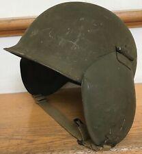 Vintage WWII WW2 US Army Air Force AAF M3 Flak Helmet Bomber Gunner Attic Find