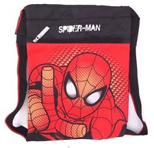 "Marvel Spider-Man String Bookback Backpack 20"" Diagonal NWT FREE SHIPPING"