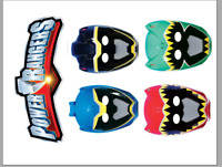 Edible Icing Printed Cake Decoration Topper POWER RANGERS SPECIAL (#2)
