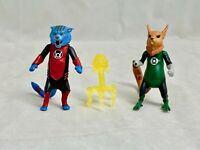 DC Universe Classics Green Lantern B'dg Despotellis Dex-Starr Figure LOT LOOSE