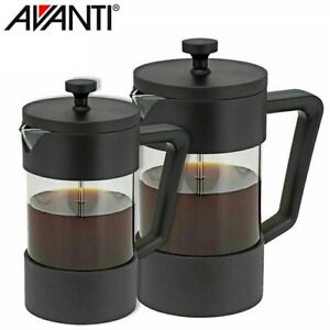 Avanti  Sorrento Coffee Plunger Glass Stainless Steel Coffee Maker,Tea Brewer