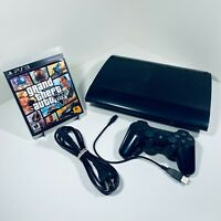 Sony PlayStation 3 PS3 Super Slim CECH-4201A 12GB NTSC U/C Bundle - GTA V