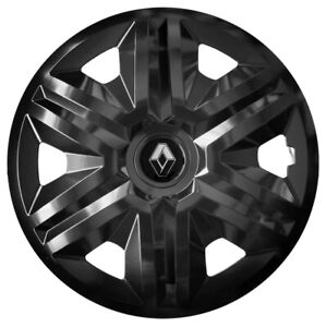 """16"""" Whell trims wheel covers fit Renault Trafic 4x16'' inches black"""