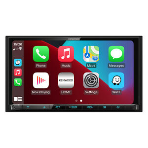 """DMX7017DABS KENWOOD 7.0"""" Touch Screen, CarPlay, Android Auto, Bluetooth, DAB"""