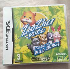 ZhuZhu Pets - Featuring The Wild Bunch (Nintendo DS, 2010) - European Version