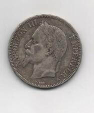 FRANCE  NAPOLEON III  5F 1870 A BARRE