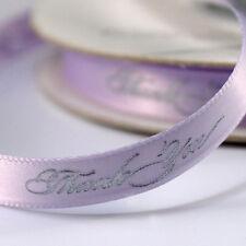 "Thank You 5/8"" Wedding Favor Ribbon, 2 Sizes, 26 Colors!"