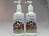 CASWELL-MASSEY - LOT OF 2 - ENGLISH LAVENDER LIQUID SOAP WITH PUMP -8.5 OZ- NEW