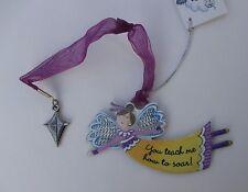 cc You teach me to soar ALWAYS AN ANGEL Ornament kite car charm mom teacher