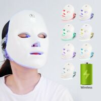 LED Light Therapy Photon Facial Mask Face Skin Rejuvenation Photodynamics PDT