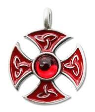 Pendentif Talisman des chevaliers Templiers - Croix de Consecration