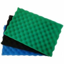 "2 x Garden Fish Pond Media Filter Foam Sponge Set 17"" x 11"" Pads"