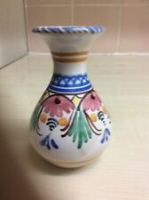 Small Hand Painted Vase 4 Inch High