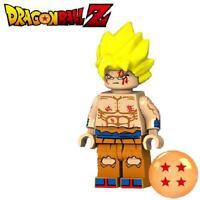 Super Saiyan Goku Dragon Ball Z Custom For Lego Minifig Mini Figure 13