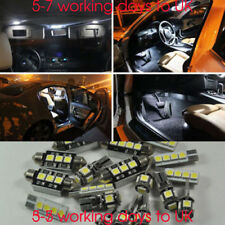 Error Free White 8 Lights BULBS SMD LED Interior Kit For VW Golf 4 MK IV 97-2006