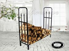FIREPLACE ACCESSORIES 'PORTLAND' Wood Rack / Log Rack / Wood Holder / Firewood