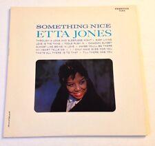 ETTA JONES Something Nice LP Prestige Reissue 1986
