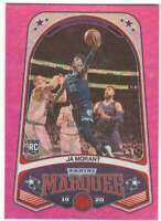 JA MORANT RC 2019-20 Panini Chronicles Marquee Pink #253 ROOKIE Grizzlie ID:5729