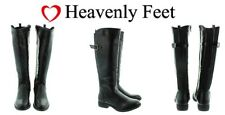 Ladies Boots Size 4.5 UK Heavenly Feet Nikki Black Boots Memory Foam Size Eu 37