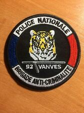 PATCH POLICE NATIONALE FRANCE - BAC 92 VANVES