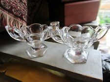 A pair of Vintage Krys-Tol  Chippendale pattern footed table salts.