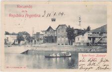 Tigre,Argentina,Teutonia Rowing Club,Ruder-Verein,Buemos Aires Region,Used,1904