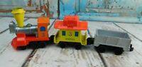 Mattel First Wheels Die Cast Metal Train Set 1980 Vintage Hong Kong